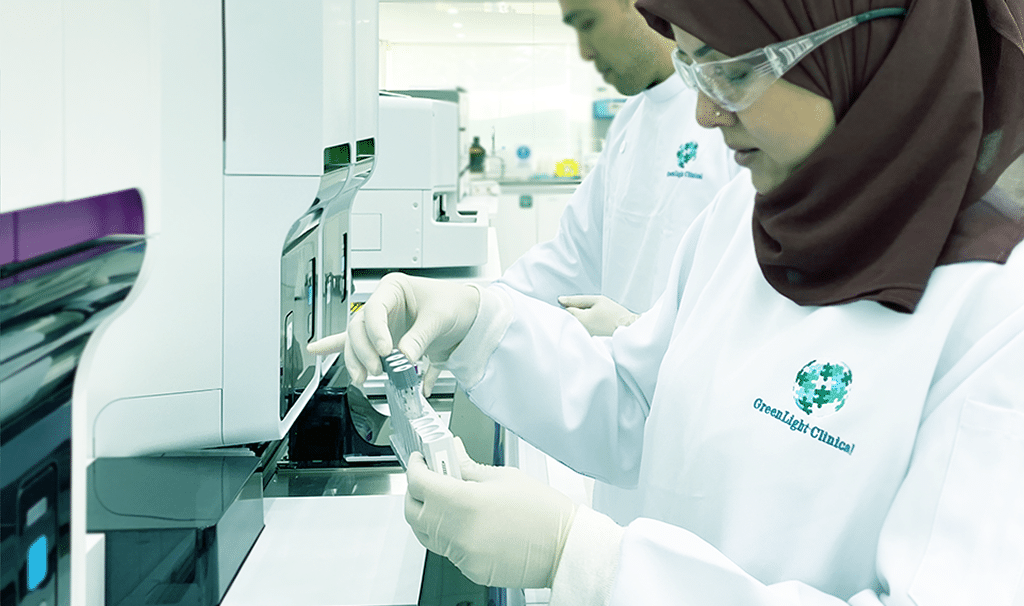 Clinical Trial Personnel in GreenLight Clinical Central Laboratory